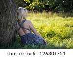 young beautiful woman - stock photo