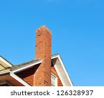 close up chimney on the roof | Shutterstock . vector #126328937