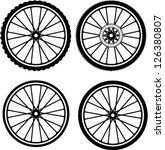 Road And Mountain Bike Wheels...