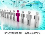 team leader | Shutterstock . vector #126383993