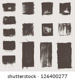 grunge vector elements and... | Shutterstock .eps vector #126400277