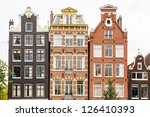 Traditional Dutch Buildings In...