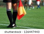 soccer referee | Shutterstock . vector #126447443