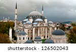 Sehzade Mosque ( Prince mosque ). Istanbul, Turkey - stock photo