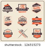 colorful premium quality and... | Shutterstock .eps vector #126515273