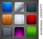 high detailed backgrounds for... | Shutterstock .eps vector #126524777