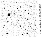 Abstract Black Dots Pattern...