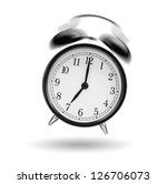 Classical Alarm Clock Ringing...