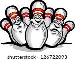 cartoon vector image of a happy ... | Shutterstock .eps vector #126722093