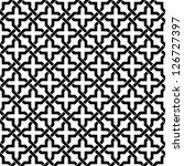 ornamental pattern. seamless... | Shutterstock .eps vector #126727397