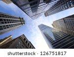 Looking Up Lower Manhattan...
