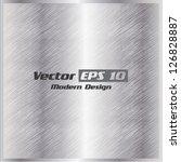 vector metal texture background   Shutterstock .eps vector #126828887