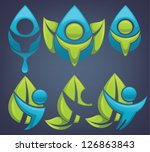 vector collection of ecological ...