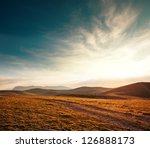 mountains at sunset | Shutterstock . vector #126888173