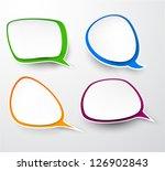 vector illustration of paper... | Shutterstock .eps vector #126902843