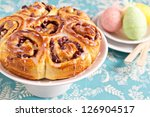 Sweet Rolls With Dried Fruits...