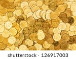 Background Of The Coins Of...