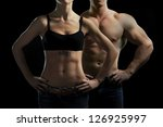 Постер, плакат: Bodybuilding Strong man and