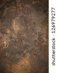 Rust Metal Background Or Brass...