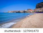 cefalu  sicily  italy | Shutterstock . vector #127041473