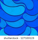 abstract blue background | Shutterstock .eps vector #127103123