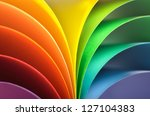 abstract rainbow background... | Shutterstock . vector #127104383