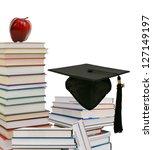 a graduating degree in school... | Shutterstock . vector #127149197