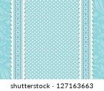 vintage blue background for... | Shutterstock .eps vector #127163663