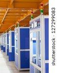 interior of modern factory shop | Shutterstock . vector #127299083