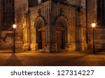 Night To Church Gate Plzen