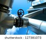 industrial zone  steel... | Shutterstock . vector #127381073