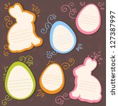 easter bunny and eggs discount...