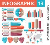 infographic elements 13 | Shutterstock .eps vector #127396097