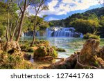 Waterfalls In Krka National...