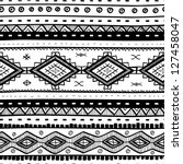 tribal vector seamless pattern. ... | Shutterstock .eps vector #127458047