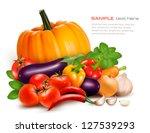 fresh vegetables. healthy food. ... | Shutterstock .eps vector #127539293
