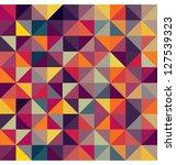 colorful geometric pattern.... | Shutterstock . vector #127539323