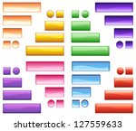 illustration of colorful icons... | Shutterstock . vector #127559633