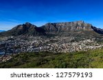 table mountain in cape town | Shutterstock . vector #127579193