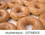 Glazed Donuts In Box