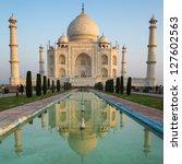 A Perspective View On Taj Maha...