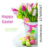Happy Easter   Flowers And...