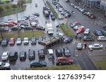saint petersburg  russia... | Shutterstock . vector #127639547
