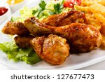 Grilled Chicken Legs With Chip...