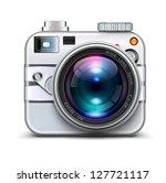 vector illustration of detailed ... | Shutterstock .eps vector #127721117