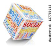 social media and networking... | Shutterstock . vector #127759163
