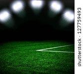 soccer green field | Shutterstock . vector #127759493
