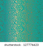 doodle paisley seamless pattern.   Shutterstock .eps vector #127776623
