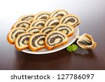 Slices Of Poppy Seed Roll...