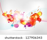 abstract  background with... | Shutterstock . vector #127906343